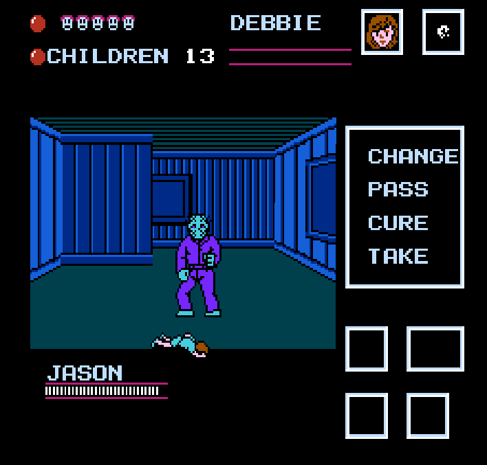 Friday the 13th NES Debbie