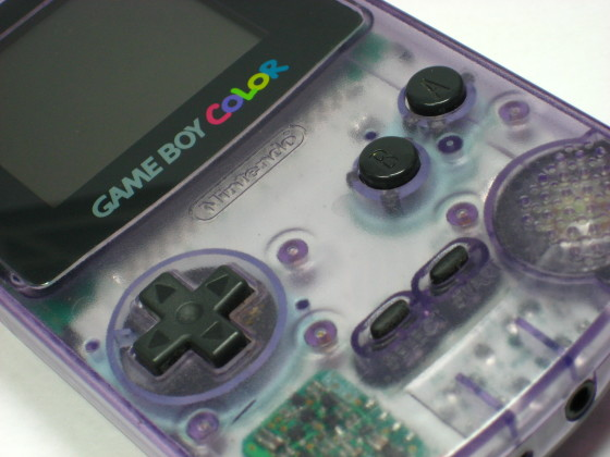 gameboycolorclearpurple