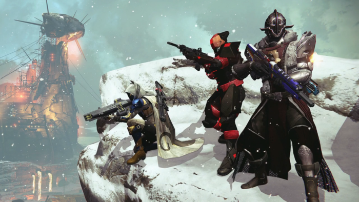 Cat ears are confirmed for Rise of Iron.