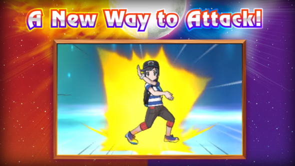 Z-Moves include special poses that make you really feel like you love anime.