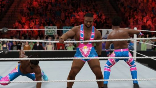 They did lovingly render Kofi Kingston humping the mat which does bring this game up a whole star rating for me.