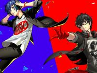 persona 3 5 dancing in moonlight, p3, p5, starlight