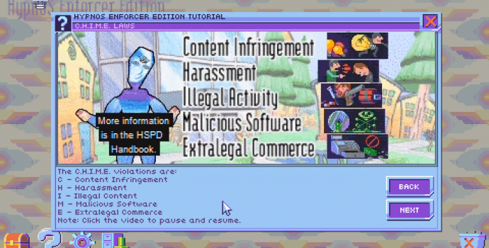 hypnospace outlaw, chime
