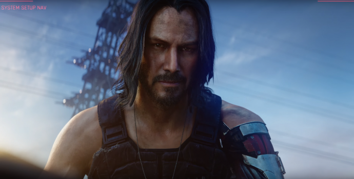 CD Projekt Red, Cyberpunk 2077, Keanu Reeves