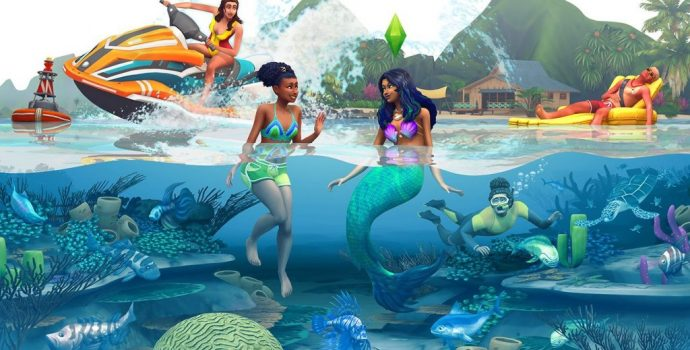 Sims 4, Island Living