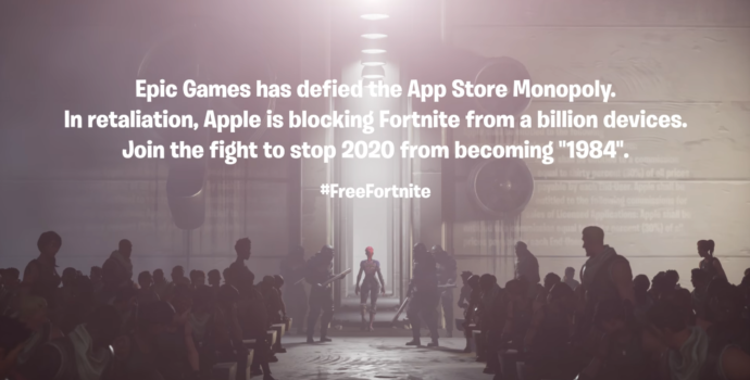 fortnite, apple