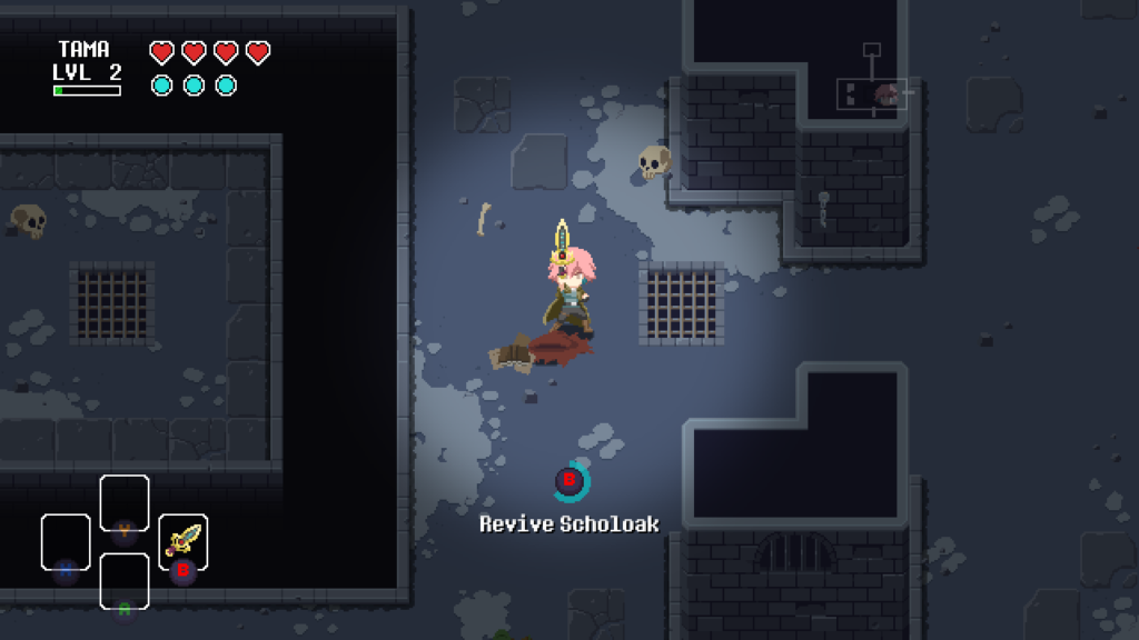 sword of the necromancer. dungeon crawler, roguelite