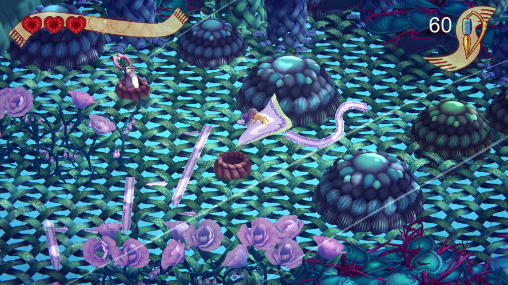 weaving tides, puzzle adventure