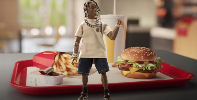 travis scott, mcdonalds, mcd
