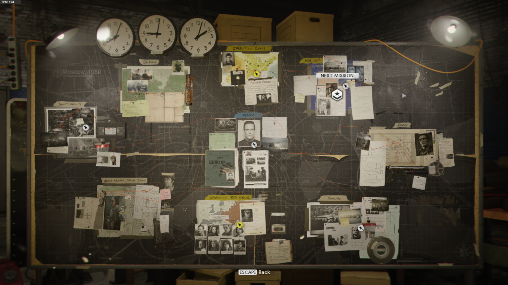 black ops cold war campaign mission board