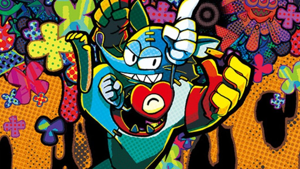 Key art of Mad Rat Dead by Nippon Ichi Software - Mad Rat and Heart are super cute together!