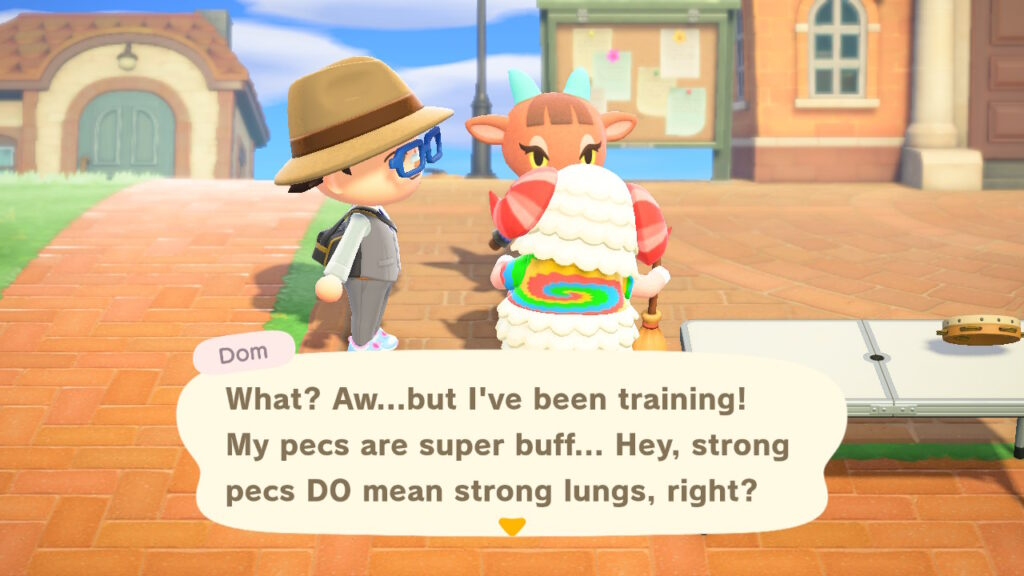 Animal Crossing Dom is the best