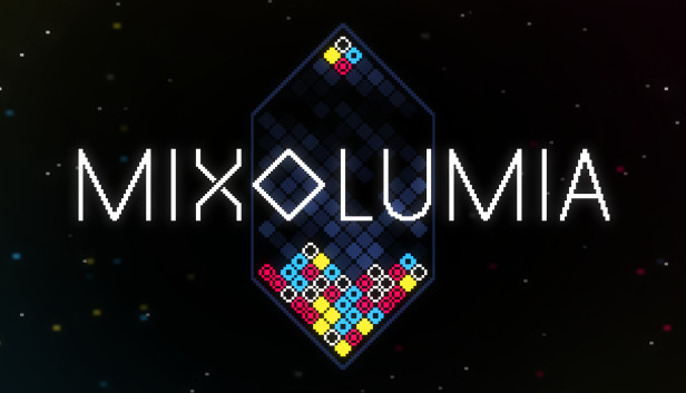 Mixolumia by davemakes is the puzzle game Tetris Effect wishes it was
